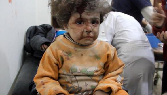 El dolor de los niños en el último hospital de Alepo [VIDEO]