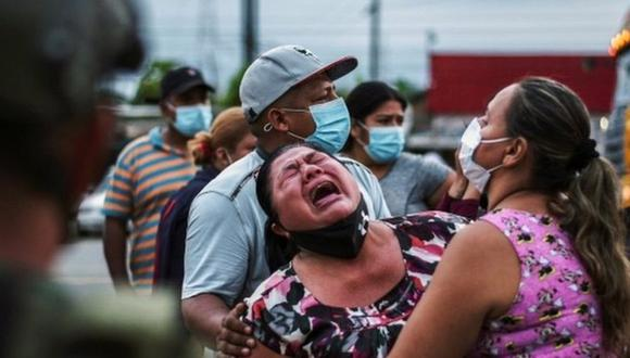 La violencia de los sucesos del martes ha conmocionado a todo Ecuador. (Foto: Reuters)