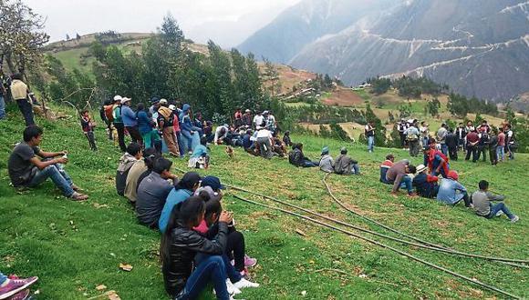 Conflicto minero en La Libertad en tregua: tensa calma en Pataz