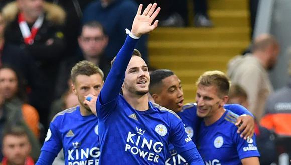 Leicester se enfrentará al Southampton por la Premier League. Conoce los horarios y canales de todos los partidos de hoy, viernes 25 de octubre. (AFP)