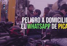 Peligro a domicilio: el WhatsApp de los choferes de Picap