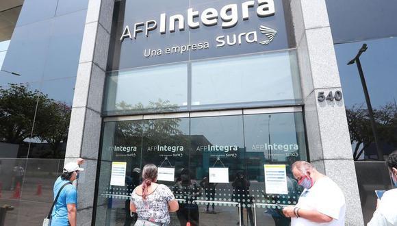 Asociación de AFP en contra de los proyectos legislativos. (Foto: GEC)
