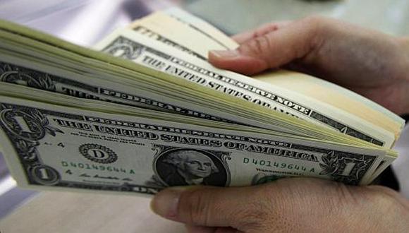Dólar sube a S/.2,813, su nivel más alto en cinco meses
