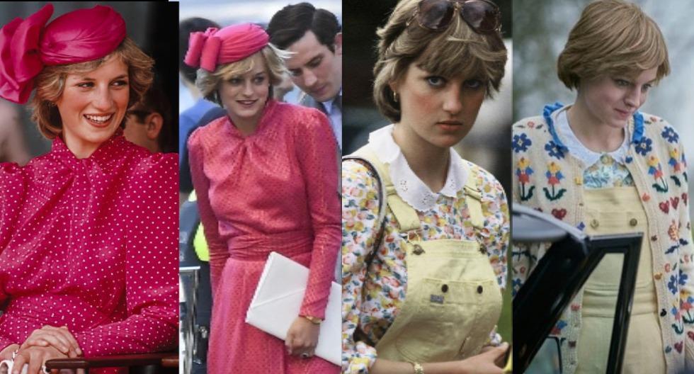 Amy Roberts es la diseñadora encargada del increíble vestuario de Emma Corrin en The Crown. En esta galería, te mostramos algunos looks en los que han logrado replicar el estilo de Lady Di a la perfección. (Fotos: IG)