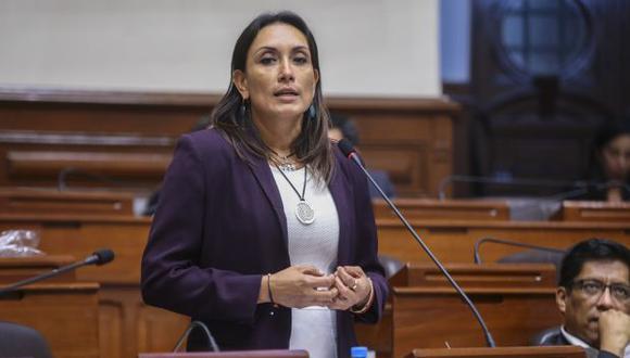 Patricia Donayre, de Peruanos por el Kambio, recordó que en el debate del Congreso su bancada expuso la misma posición que tuvo hoy Martín Vizcarra. (Foto: Congreso)