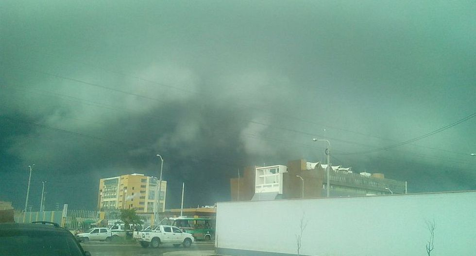 Lambayeque: inusual nubosidad oscura alarmó a chiclayanos - 5