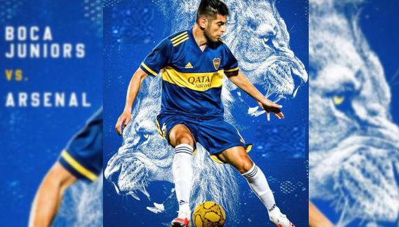 Zambrano llegó a inicios del 2020 a Boca. (Foto: Twitter Carlos Zambrano)