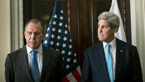 """Ucrania: """"Persisten las diferencias"""" pese a cita Kerry - Lavrov"""