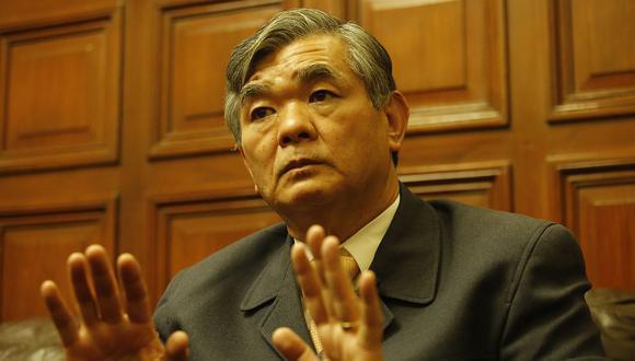 """Miyashiro consideró que las """"ideologías marxistas, leninista, mariateguista"""" representan una amenaza ya que atentarían contra las familias imponiendo """"un sistema dictatorial"""". Foto: Archivo GEC"""