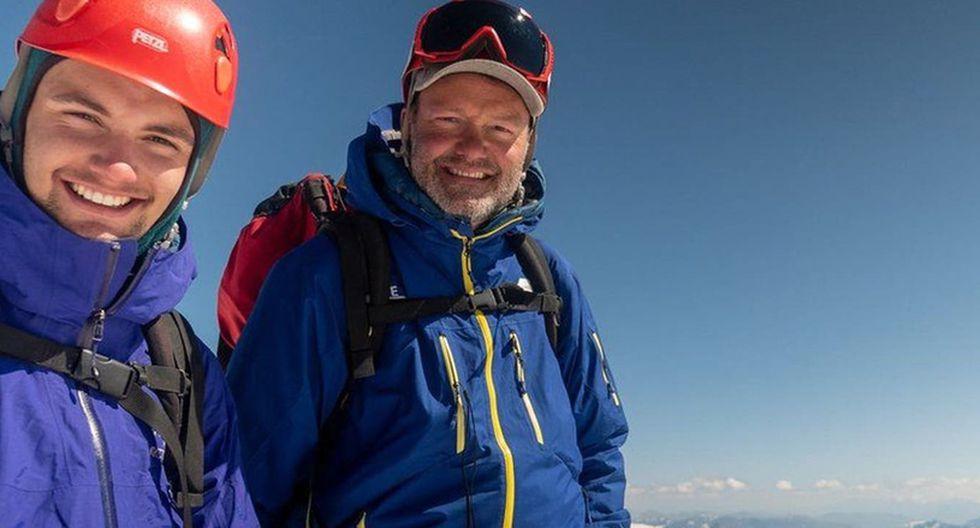 Al inicio, Khobe Clarke se resistió a la idea de viajar un mes, desconectado de su celular, con su padre. (Foto: Jamie Clarke / BBC)