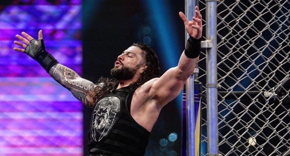 ¿Por qué no luchó? Roman Reigns estuvo en las grabaciones de WrestleMania 36 pero no enfrentó a Goldberg | Foto: WWE