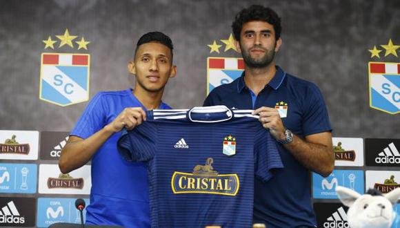 Christofer Gonzales firmó contrato con Sporting Cristal por las próximas cuatro temporadas. (Foto: Francisco Neyra / GEC)