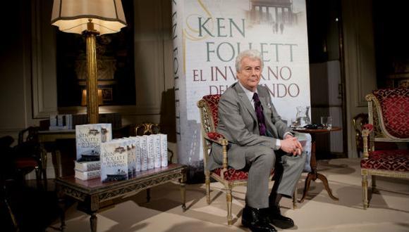 """Ken Follett: """"Por supuesto disfruto jugar a ser Dios"""""""
