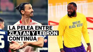 Estrellas de la NBA insultan a Zlatan Ibrahimovic por su pelea con LeBron James