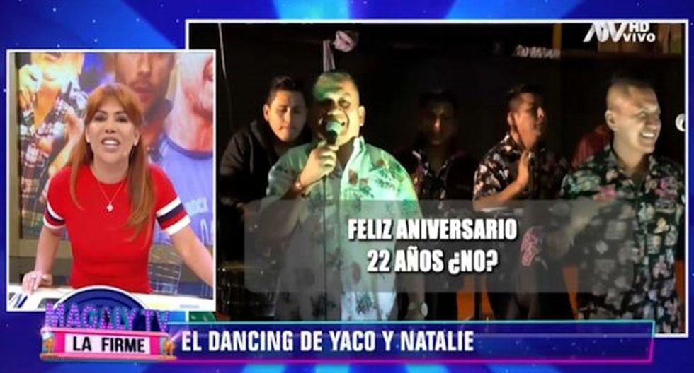 Tony Rosado saludó por su aniversario a Magaly Medina, aunque con insultos. (Imagen: ATV)