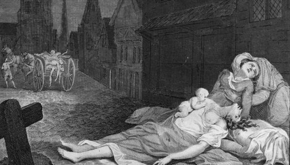 En la Edad Media a la peste se la conocía como la muerte negra y fue la mayor pandemia del s.XIV. (Foto: Getty Images)