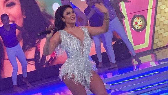"""La cantante Maricarmen Marín lanzó el """"Mix Bella"""" en medio de una gran expectativa. (Foto: Captura)"""