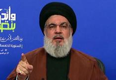 """Líder de Hezbolá libanés advierte sobre """"politización"""" de investigación de explosión"""