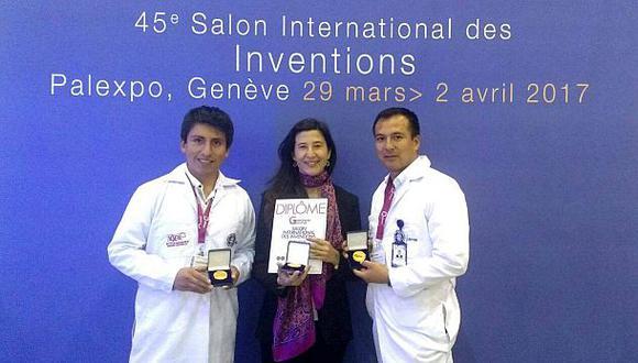 Peruanos triunfan en concurso internacional de invenciones