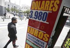 Dólar cierra en S/ 3,97 y toca el mínimo de más de tres meses