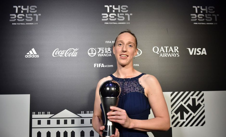 Sari van Veenendaal, ganadora del premio The Best 2019 a la mejor portera. (Foto: ESPN)