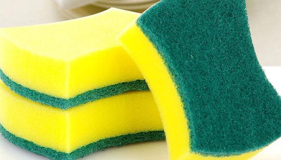 Las esponjas, además de ser implemento para la limpieza, es muy útil para conservar los alimentos (Foto: Pixabay)