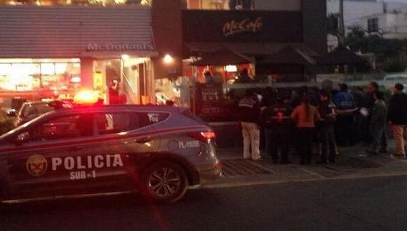 Miraflores: sujeto fue asesinado en local de McDonalds