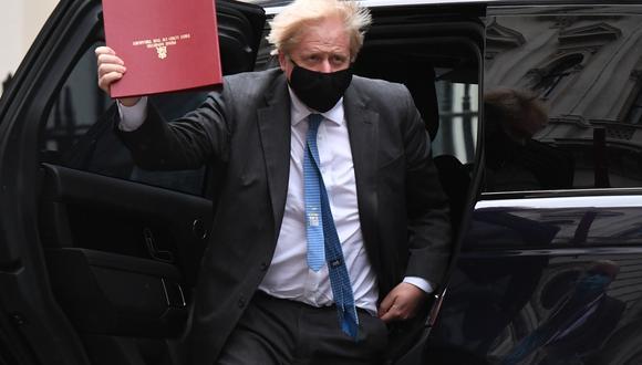 Boris Johnson, primer ministro británico. (Foto: Bloomberg)