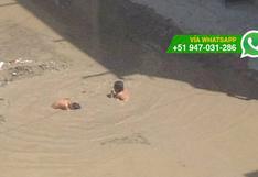 Chiclayo: siguen los problemas por calles inundadas