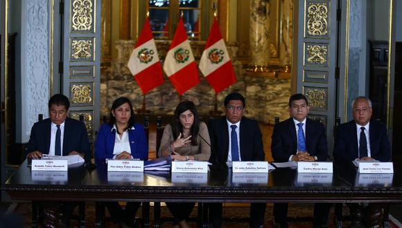 Presenta Presupuesto del Sector Público para el Año Fiscal 2020. (Foto: GEC / Fernando Sangama)
