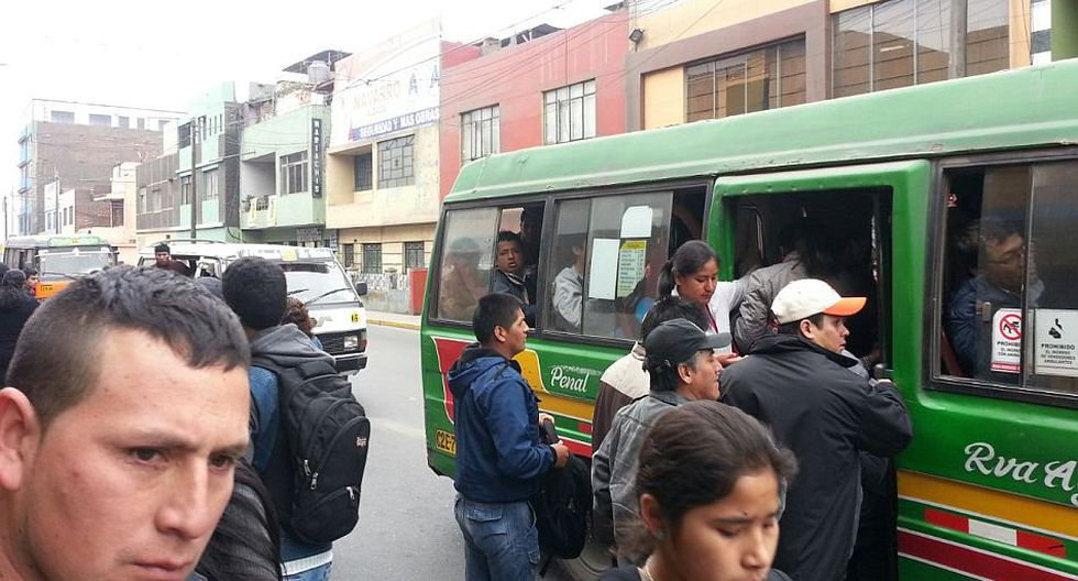 Caos vehicular en San Juan de Lurigancho por elecciones - 5