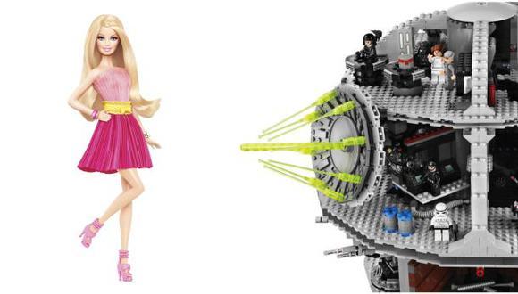Los bloques de Lego le ganaron la batalla a la muñeca Barbie