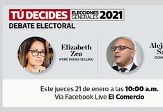 Candidatos al Congreso de Somos Perú y Perú Patria Segura debaten este jueves en El Comercio
