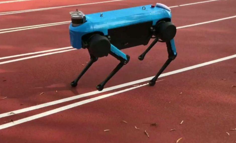 """""""Sin sombra"""" , es la nueva generación de robots de cuatro patas para lograr correr y subir y bajar escaleras."""