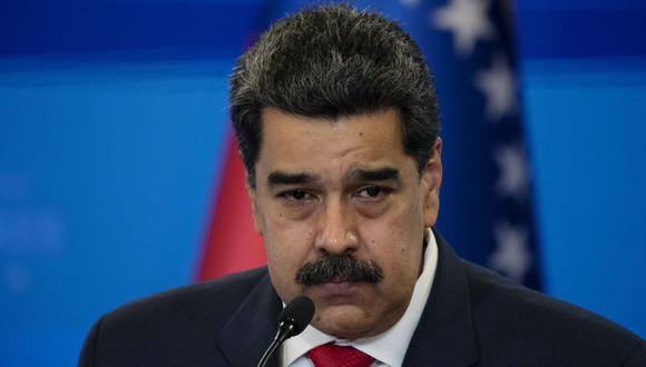 Nicolás Maduro ofrece una conferencia de prensa en el palacio presidencial de Miraflores, en Caracas, Venezuela, el martes 8 de diciembre de 2020. (Foto: Carlos Becerra / Bloomberg).
