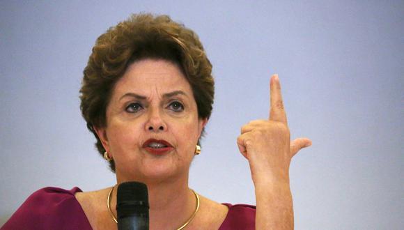 Dilma Rousseff, ex presidenta de Brasil. (Foto: Reuters/Pilar Olivares)