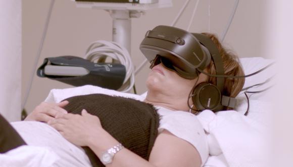Sistema de realidad virtual creado para ayudar a pacientes con cáncer. (Difusión)