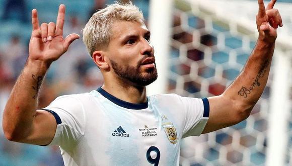 Sergio Agüero vuelve a la selección de Argentina para disputar las Eliminatorias. (Foto: AFP)