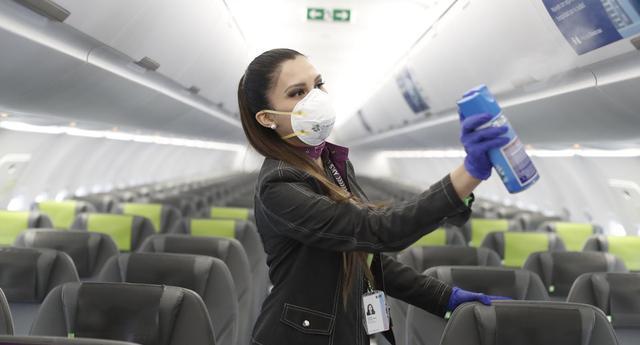 Según Quantico, entre los peruanos hay confianza sobre la ejecución de los protocolos sanitarios por parte de las aerolíneas, aunque todavía hay dudas sobre si los aviones deben volar al 100% de su aforo. (Foto: César Campos/ GEC).