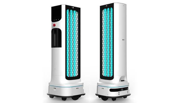 ¿Te imaginas un robot que limpie todo lo que tocas? Así luce el nuevo androide de LG. (Foto: LG)