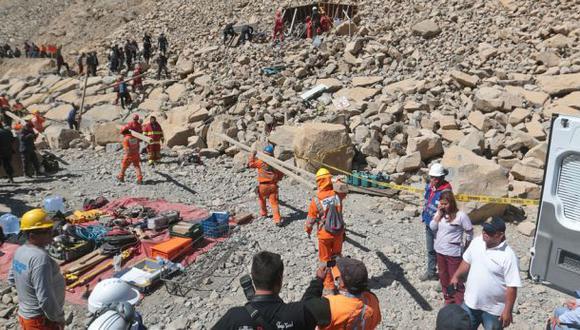 Derrumbe en Churín: geólogos y Provías investigan las causas