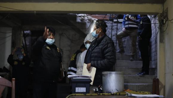 La Policía encontró en la zona del enfrentamiento hasta 13 casquillos de bala. (Foto: GEC-Referencial)