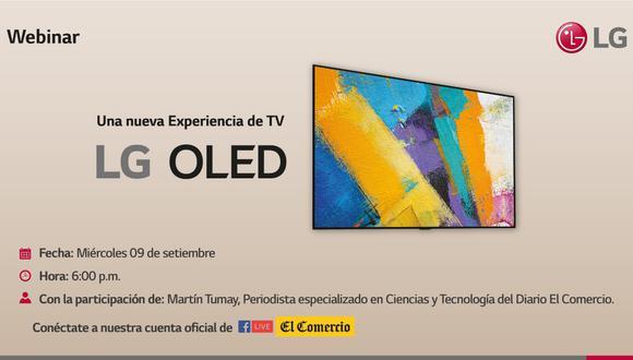 LG presentará sus nuevos televisores. (Foto: Difusión)