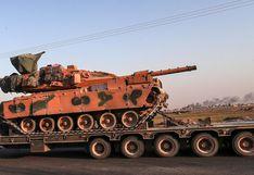 Siria envía tropas al norte para enfrentar ofensiva turca