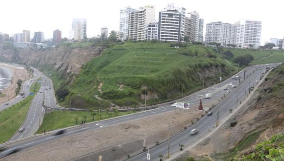 Una de las obras planeadas es la creación de la interconexión de la Costa Verde y Bajada de Armendáriz. (El Comercio)