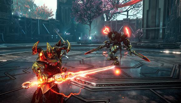 Godfall es uno de los videojuegos que aumentará su rendimiento con el AMD FidelityFX Super Resolution. (Imagen: Godfall)