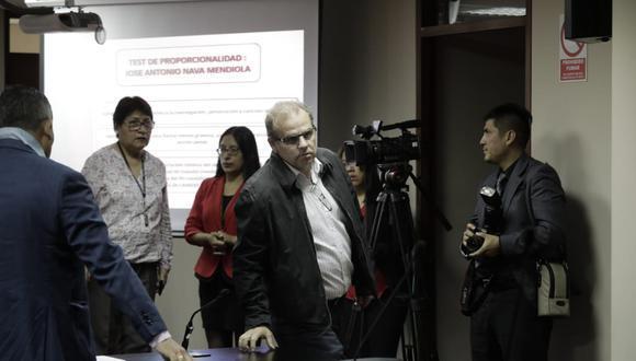 Sala Anticorrupción evaluó la solicitud de la defensa de Nava Mendiola para que se eliminen las restricciones que cumple desde 2019. (Foto: El Comercio)