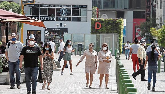 Miraflores, Magdalena de Mar y Pueblo Libre son algunos de los distritos que no registran muertes en varios días de julio   Foto: Referencial El Comercio