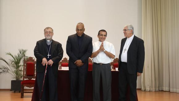 El arzobispado informó acerca del nombramiento de dos obispos auxiliares en Lima. El papa Francisco escogió a los reverendos Ricardo Rodríguez y Guillermo Elías (Foto: Juan Ponce).
