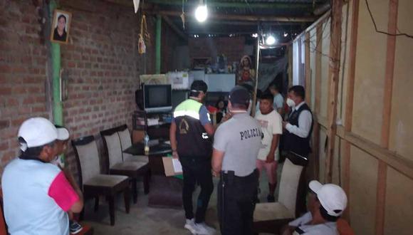 Piura: intervención policial halló a 27 personas bebiendo licor en distrito de Castilla (Foto difusión).